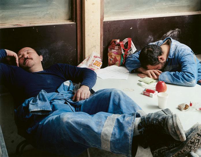 slapende mannen