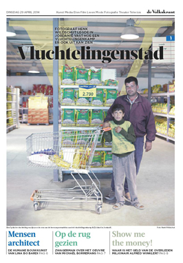 Cover volkskrant